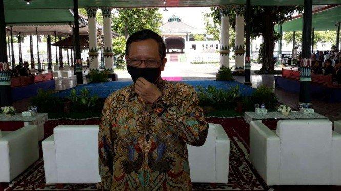 Mahfud Sebut Ada yang Bikin PSBB Total Anies di Jakarta Seolah Gawat