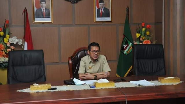 Foto: Gubernur Sumbar Irwan Prayitno. Total 392 Orang Warga Sumbar Dinyatakan Sembuh dari Covid-19 Hingga Hari Ini.
