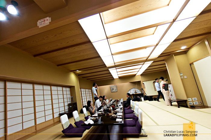 Kasuga Dining Hall at Sakura Jaya in Tokyo