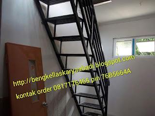 contoh tangga besi minimalis