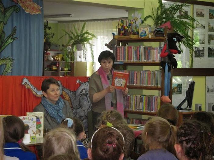 Zaproszenie na spotkanie z autorką książek dla dzieci Renatą Piątkowską
