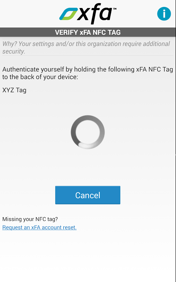 Authentify xFA- screenshot