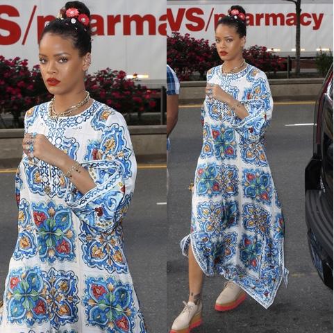 Rihanna wears Spring 2016 Dolce & Gabbana