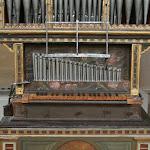 Château d'Ecouen : orgue