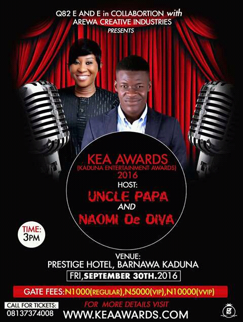 AND THE WINNER IS.......... KADUNA ENTERTAINMENT AWARDS 2016