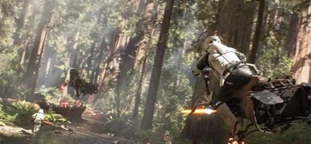 Wirklich ein Mond ? Star Wars: Battlefront Trailer und Details