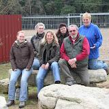 Lenia Metzler, Sabine Popp, Ulrike Thurau, Karin, Peter Popp, Maria Popp (v.l.n.r.)