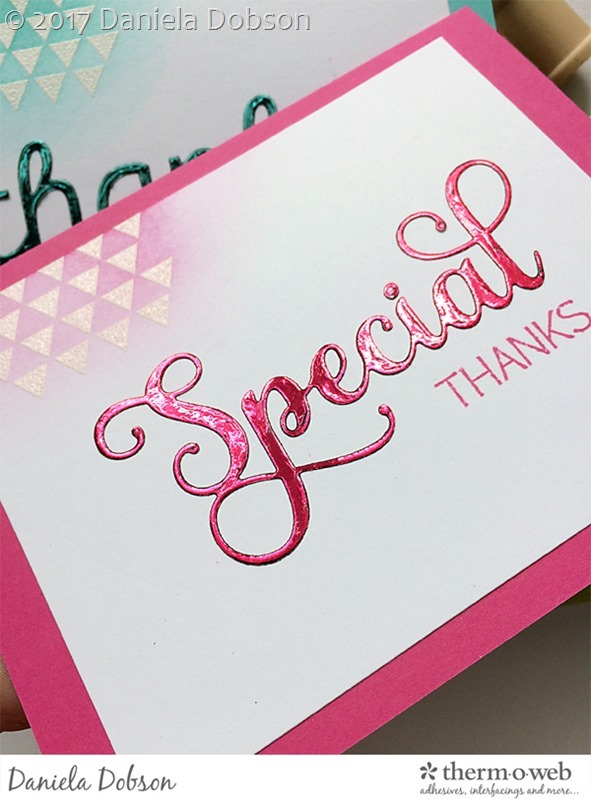 Thank you card set close by Daniela Dobson