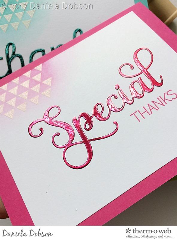 Thank you card set close by Daniela Dobson