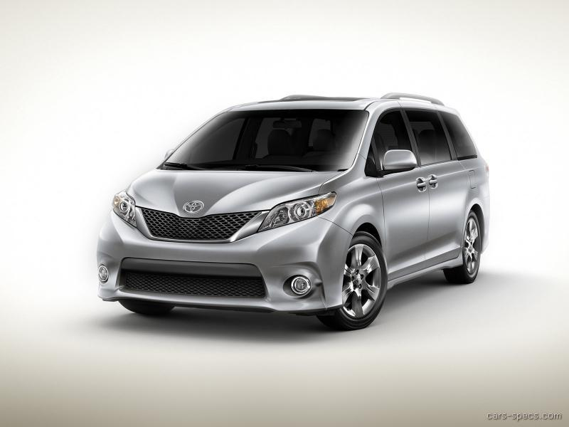 2011 toyota sienna minivan specifications pictures prices. Black Bedroom Furniture Sets. Home Design Ideas