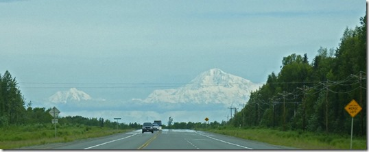 Mt. Denali, from Parks Highway