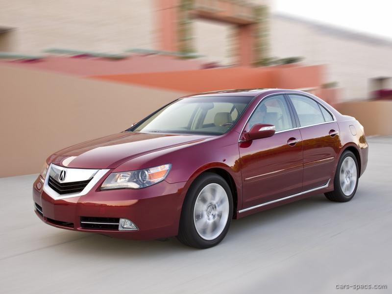 2009 acura rl sedan specifications pictures prices. Black Bedroom Furniture Sets. Home Design Ideas