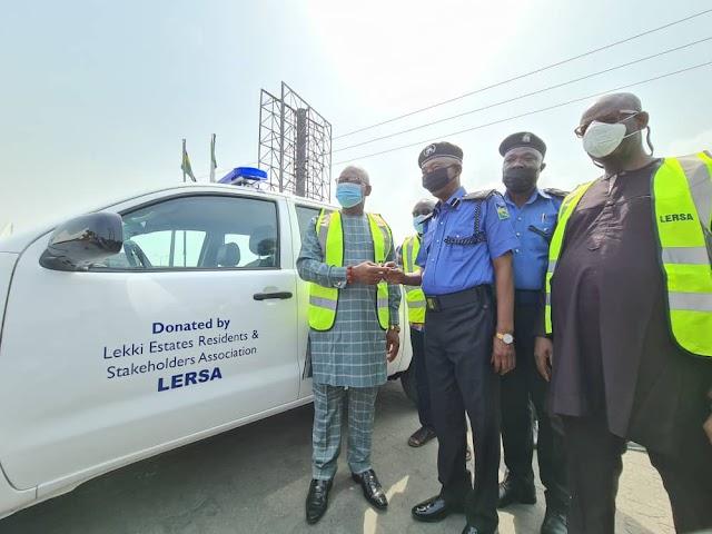 LERSA Donates Patrol Van To Police ~Omonaijablog