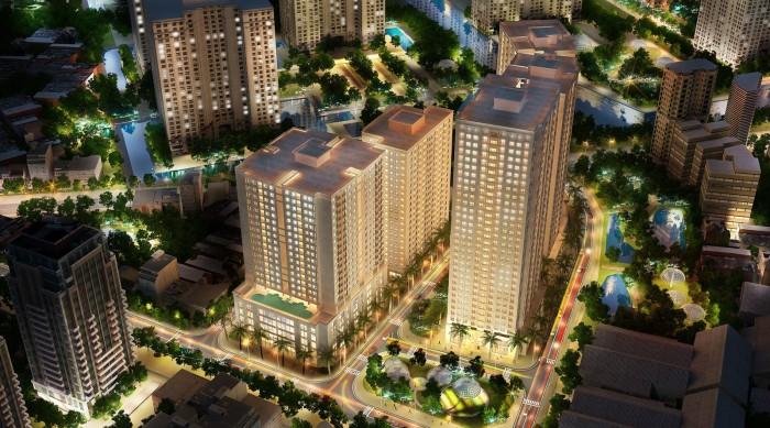 Chung cu 87 Linh Nam canh ngay Time City toa N01N02 N03 HH1