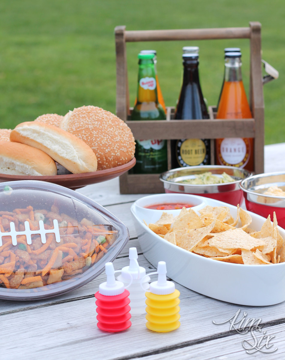 Tailgating party supply list