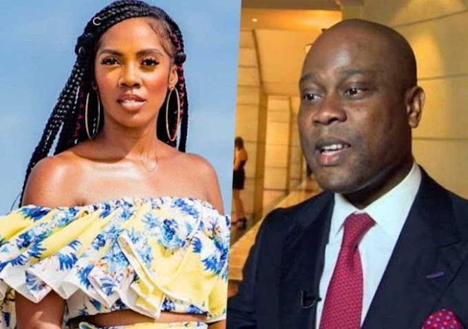 Tiwa Savage Alleged To Be Having Affair With Access Bank CEO, Following New Sponsorship Deal