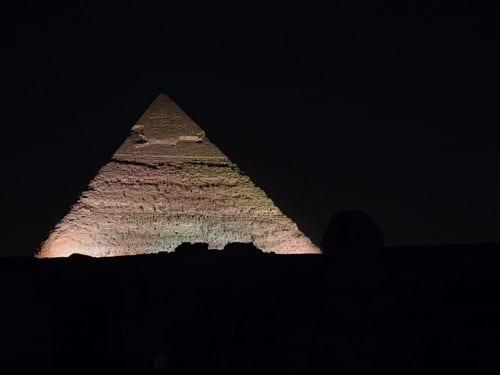 Pyramid Sound and Light Show Cairo