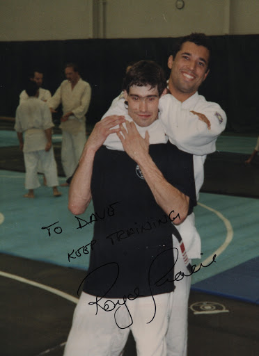 Dave Jones & Royce Gracie 1994