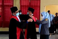 Ketua Pengadilan Negeri Watansoppeng Lantik Wakil Ketua Yang Baru, Ini Pejabatnya