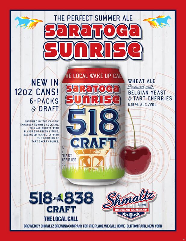 Shmaltz Releasing Saratoga Sunrise 518