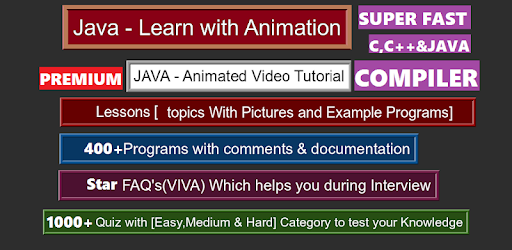Learn Java Programming [ Compiler Pro ] – Apps bei Google Play
