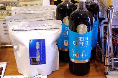 バンカオリジナル商品:水出し冷珈琲&アイスコーヒー瓶