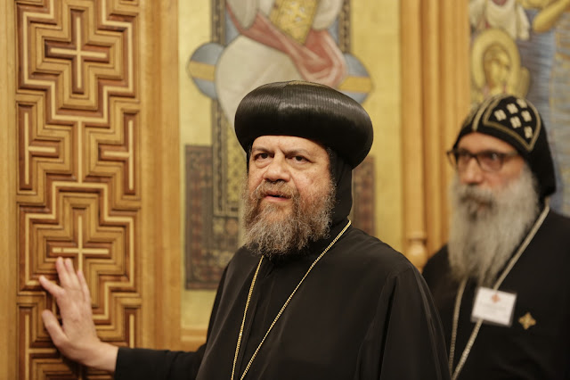 His Holiness Pope Tawadros II visit to St. Mark LA - _09A9096.JPG