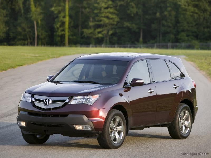 2007 acura mdx suv specifications pictures prices. Black Bedroom Furniture Sets. Home Design Ideas