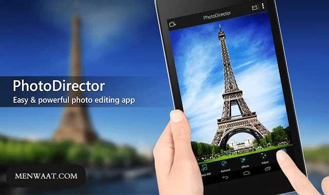 تحميل أفضل تطبيق لتعديل الصور للأندرويد PhotoDirector Photo Editor مجانا