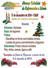 Almoco natal reformados e idosos - 17.12.16