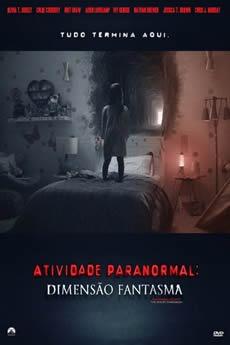 Capa Atividade Paranormal: Dimensão Fantasma (2015) Dublado Torrent