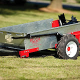 The Millcreek Model 15 is the world's smallest conventional manure spreader.