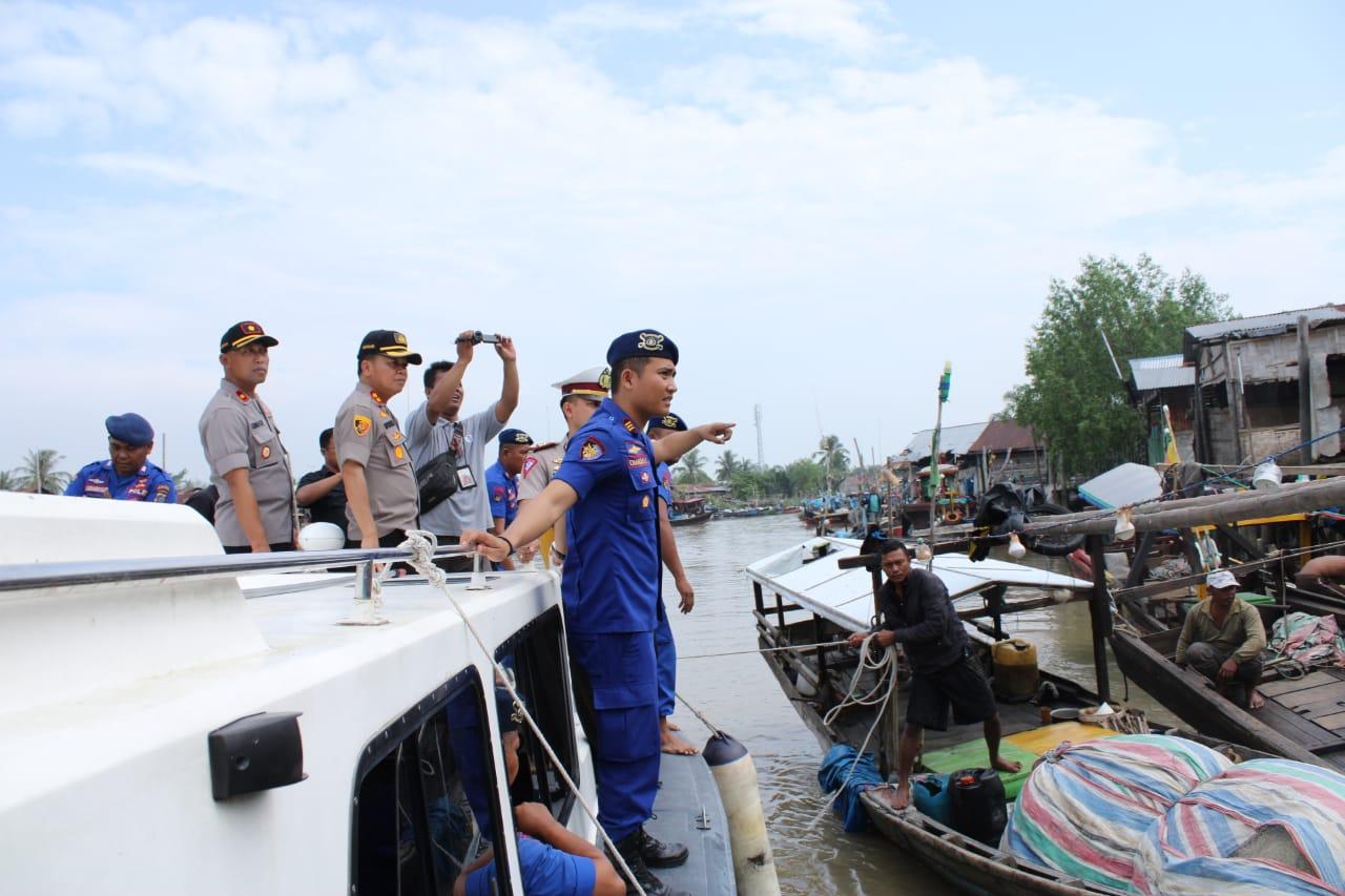 Kapolres Sergai Berikan Pesan Kamtibmas Kepada Nelayan dan Para Pedagan Ikan