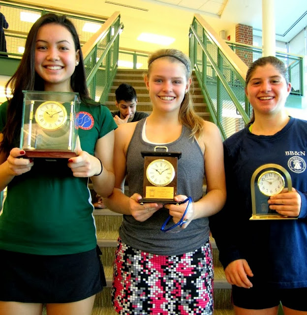 GU 17 winner Cameron Munn, finalist Lindsay Stanley, and 3rd place finisher Ellie Gozigian