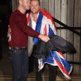 OIC - ENTSIMAGES.COM - Runner up -Austin Armacost and The Winner - James Hill at the Celebrity Big Brother Final held at the Elstree Studios in London on the 24th September 2015. Photo Mobis Photos/OIC 0203 174 1069