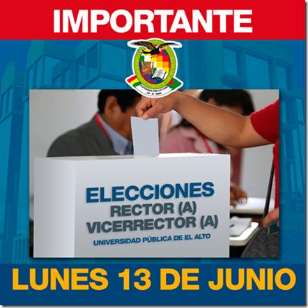 Elecciones UPEA 2016