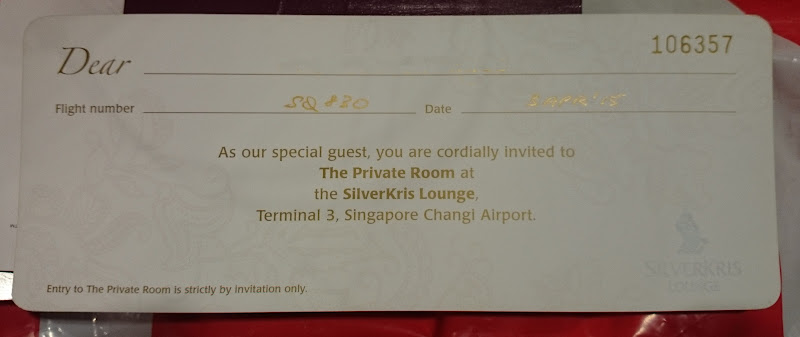 SIN%252520PVG 8 - REVIEW - Singapore Airlines : The Private Room First Class Lounge [Breakfast Service], SIN T3