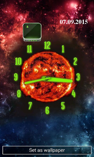 Choose Your Planet Clock Theme