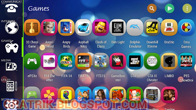 smart launcher 3 android games category