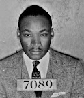 King Mug Shot - Montgomery, ALA The image of Rev. Martin Luther King Jr. is seen in this Feb 22, 1956 mug shot photo, Friday July 23, 2004, in the basement of the Montgomery ,Ala., Sheriff's office. The image, along with others are part of some of the records found from city's historic past.(AP Photo/Kevin Glackmeyer)