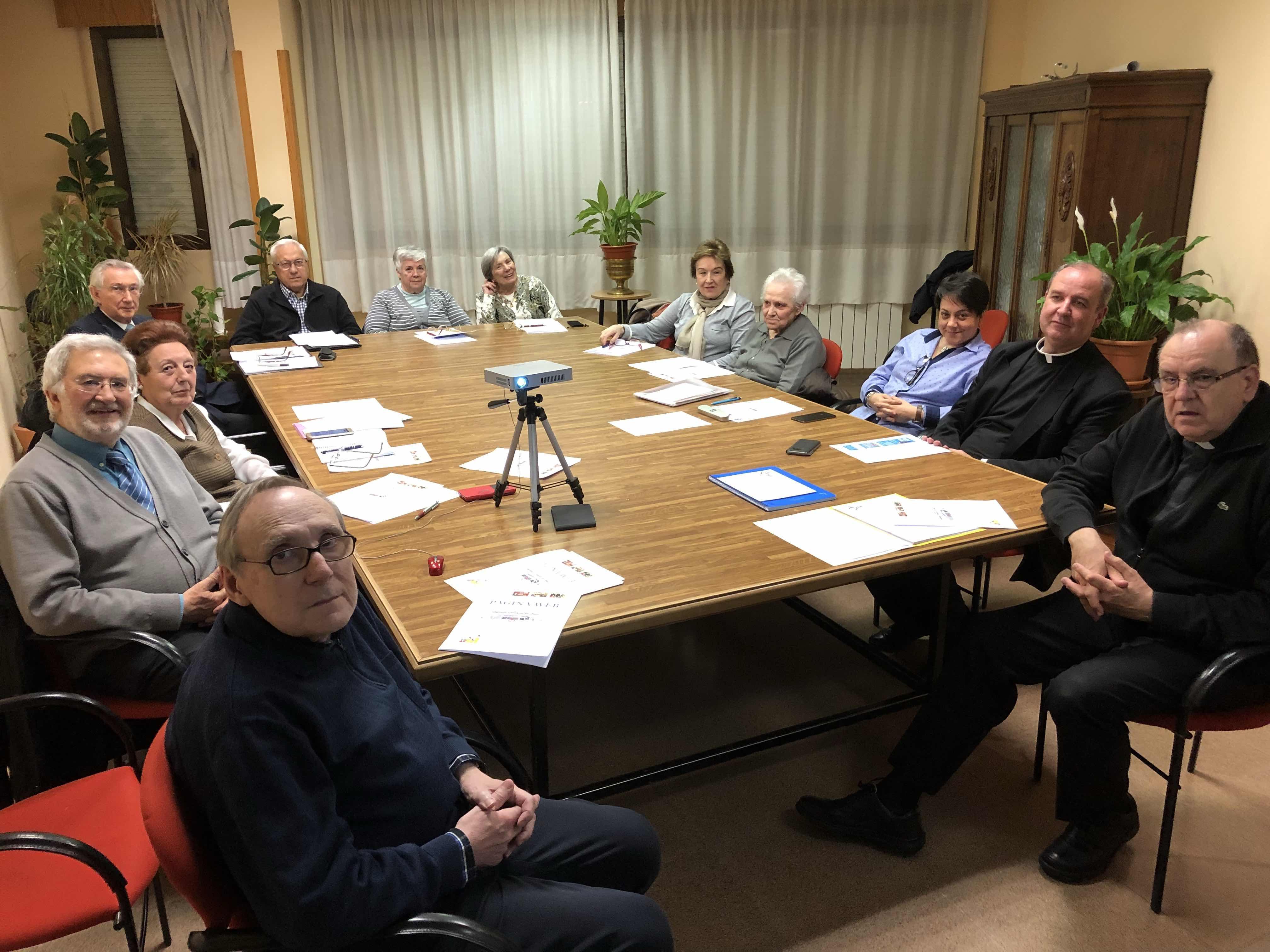 Reunión del Consejo Parroquial