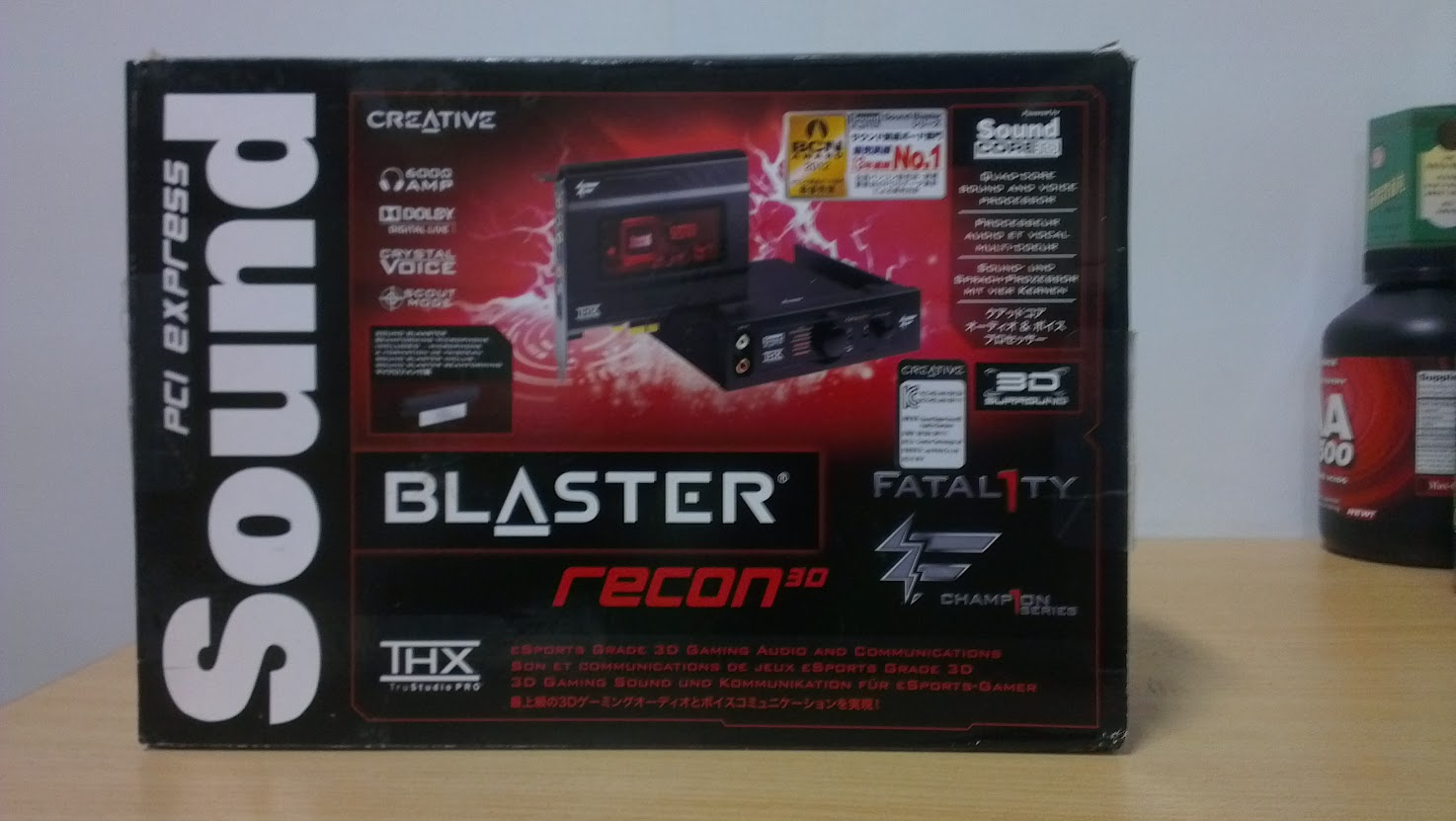 sound blaster recon 3d fatal1ty drivers