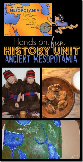 Ancient Mesopotamiz History Unit for Homeschool 2