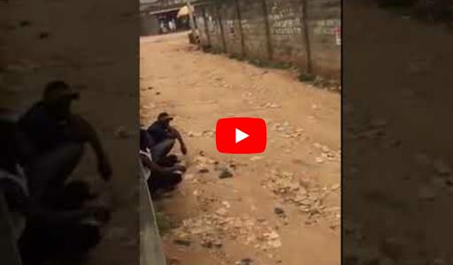 Yahoo Boys Weep As SARS Officer Threatens To Kill Them [VIDEOS]