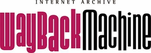Wayback Machine Internet Archive