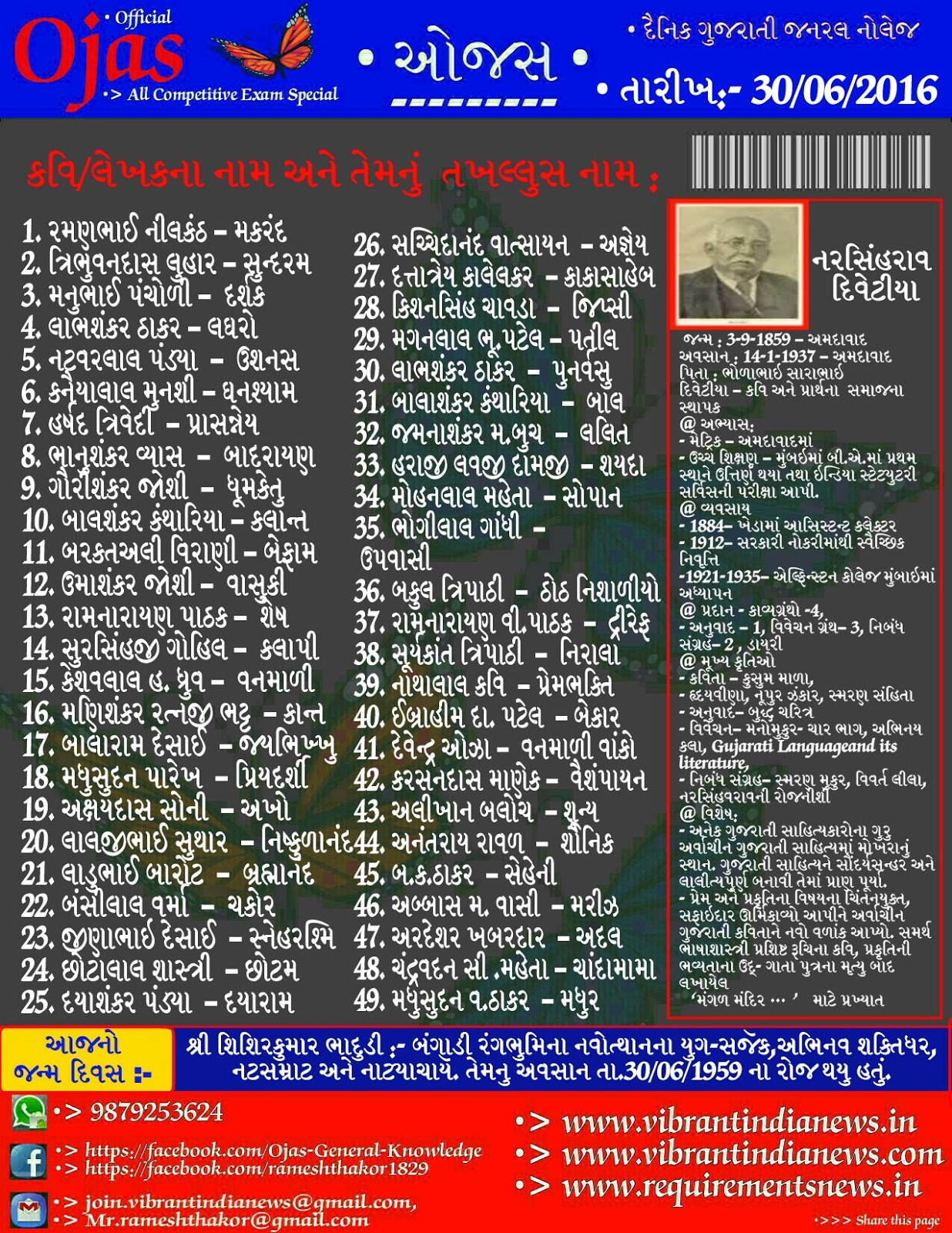 General knowledge in gujarati online reading