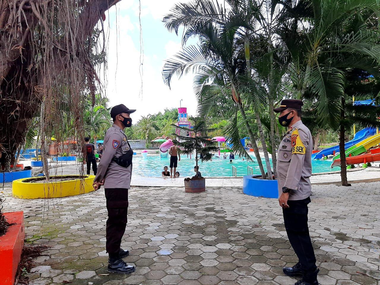 Polres Soppeng Perketat Pengamanan di Tempat Wisata