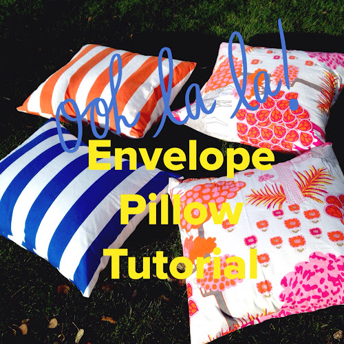 Envelope pillow cover tutorial, sewing envelope pillow cover, The Style Sisters