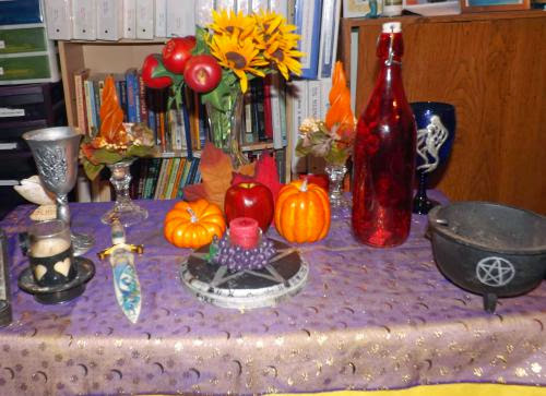 Countdown To Mabon Festive Wine Bottles