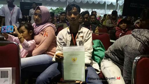 Sofyan Djalil di Sukabumi, Paling Lambat 2025 Seluruh Tanah di Indonesia Bersertifikat